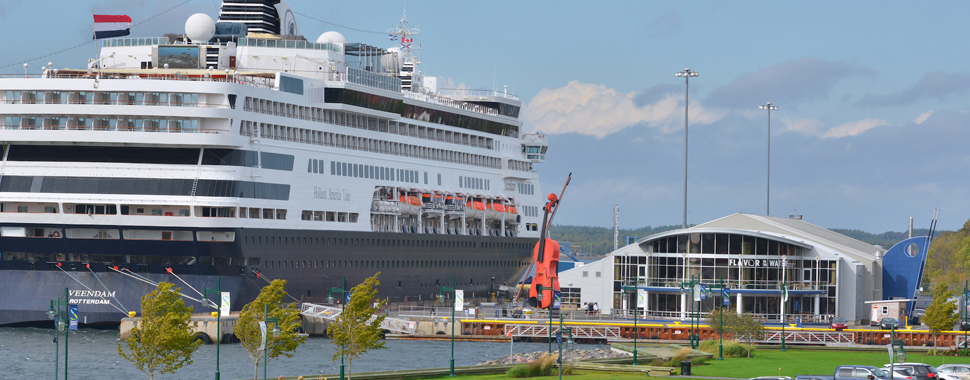 Cruise  Port Of Sydney  Nova Scotia  Canada