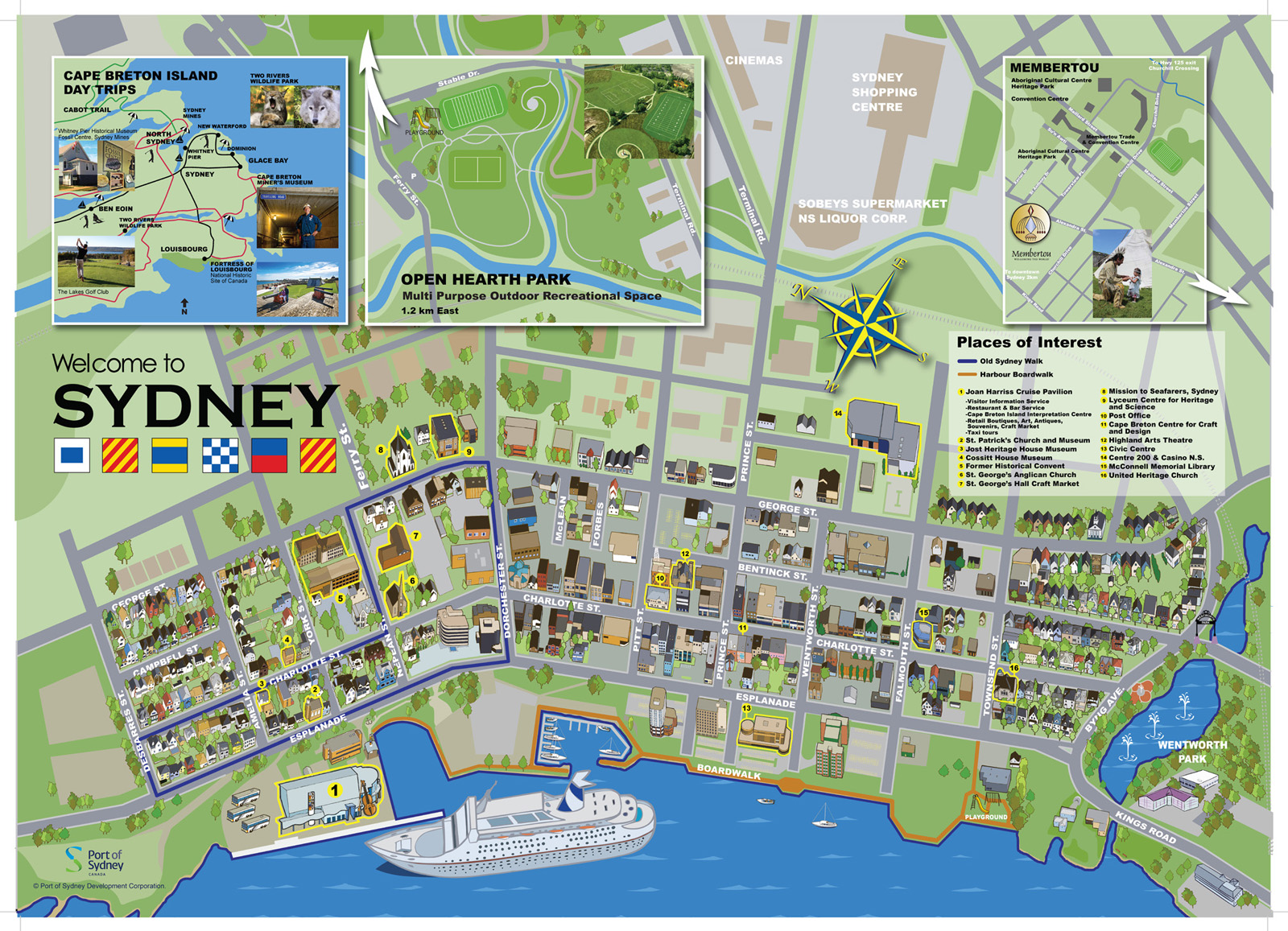 Things to Do – Sydney Tourist Map